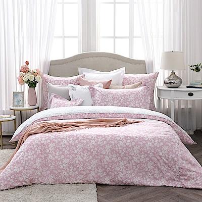 BBL Premium 微甜初戀100%精梳棉印花兩用被床包組(雙人)