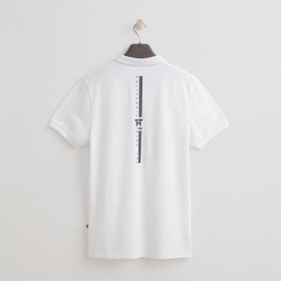 Hang Ten - 男裝 - 街頭logo造型POLO衫 - 白