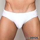 2EROS 白色戰隊男三角泳褲(白色)