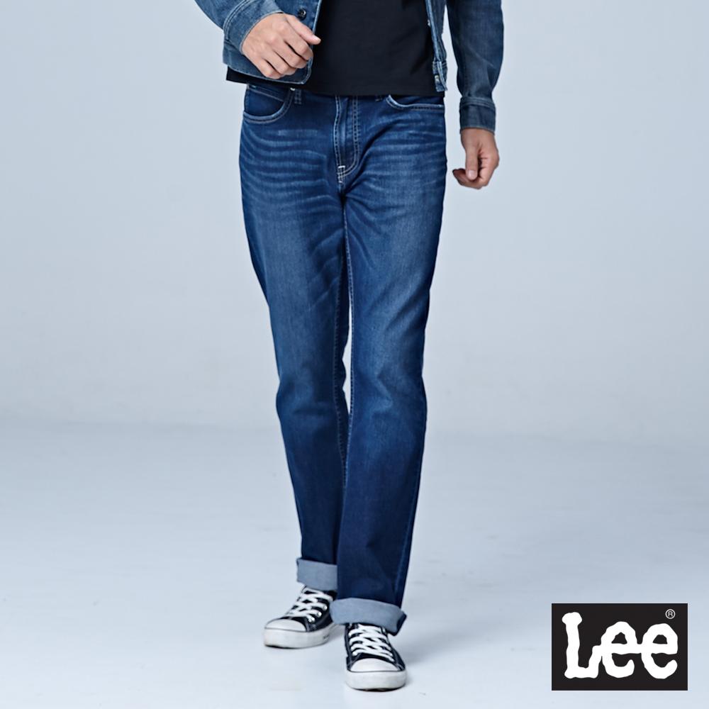 Lee 中腰舒適直筒牛仔褲