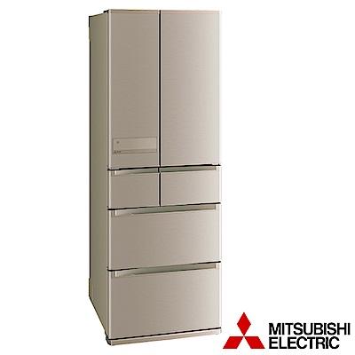 MITSUBISHI三菱525公升六門變頻冰箱-玫瑰金 MR-JX53C-N