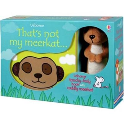 That s Not My Meerkat 那不是我的貓鼬幼兒觸摸書娃娃禮盒組