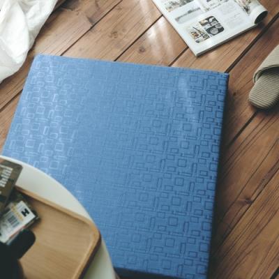 絲薇諾 MIT太空記憶坐墊-方格藍 54×56cm