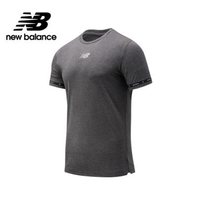 【New Balance】NBST系列 NB DRY短袖上衣_男性_灰色_MT033001MML