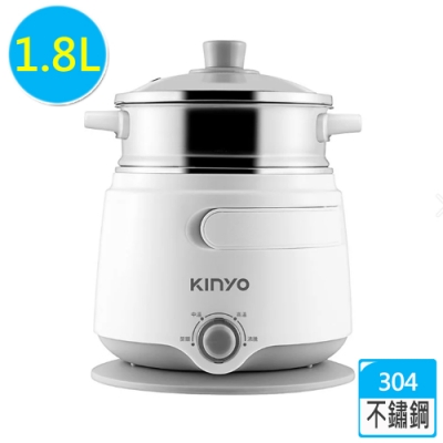 KINYO 1.8公升大容量多功能美食鍋 FP-09