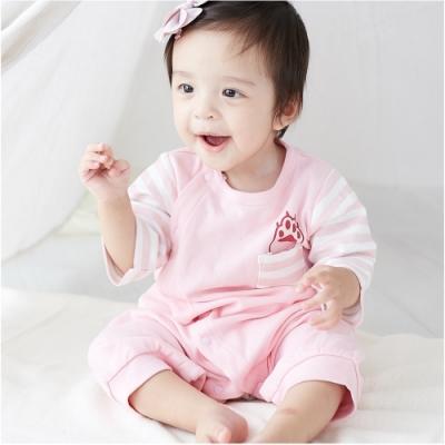 Baby童衣 可愛動物造型大屁屁褲型爬服 92011 (共三色)