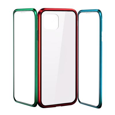 iPhone 11 Pro Max 360度全包 鋼化玻璃手機殼 金屬磁吸雙面手機殼 (iPhone11ProMax手機殼 iPhone11ProMax保護殼 )