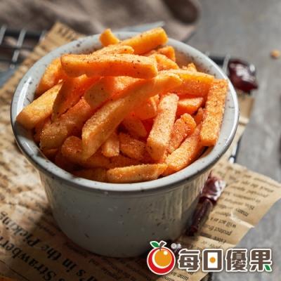 每日優果 黃金脆薯條-涮嘴香辣(135g)