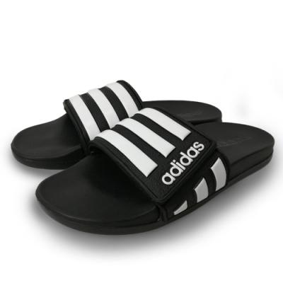 adidas 涼拖鞋 運動 休閒 運動拖鞋 中童鞋 黑 EG1879 Adilette Comfort
