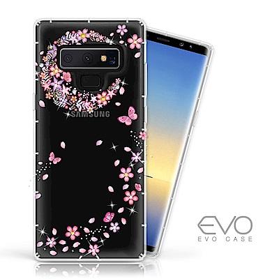 EVO CASE SAMSUNG Note 9 奧地利水鑽殼 - 櫻月