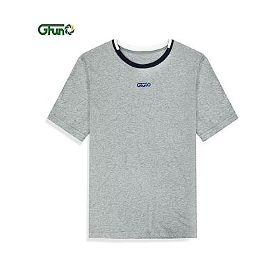GFun 男款棉感印花T(G8PKSM1)