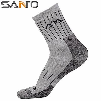 Santo杜邦COOLMAX運動襪登山襪(全厚款,中筒)S015