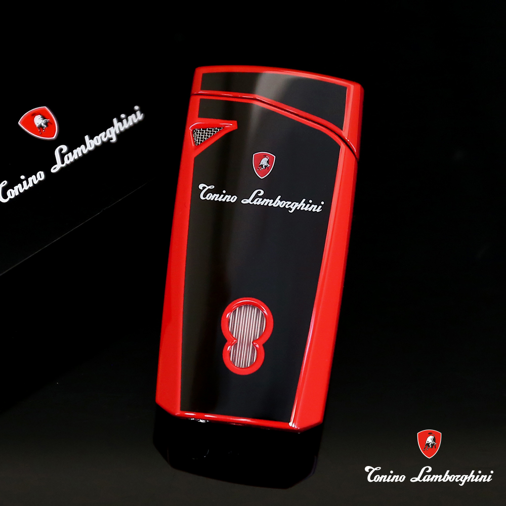 藍寶堅尼Tonino Lamborghini MAGIONE LIGHTER打火機(黑紅)