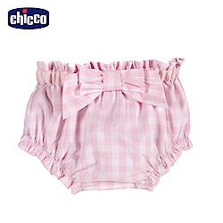chicco-蜜粉格-格紋底褲
