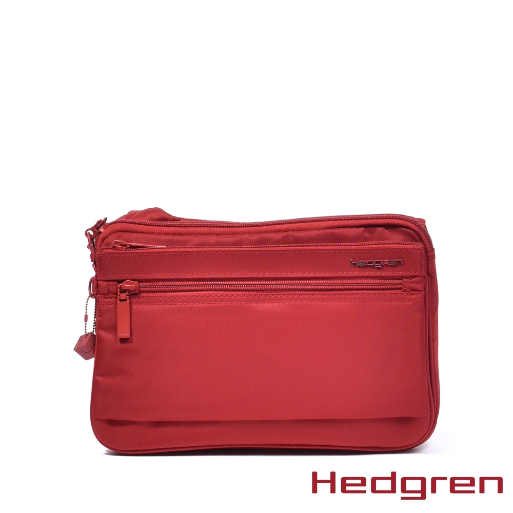 【Hedgren】紅休閒斜背包 - HIC412  SALLY