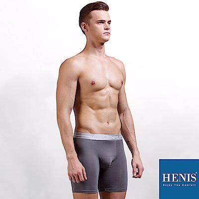HENIS ENERGY 貼彈壓力長板 防磨機能四角褲 (灰)