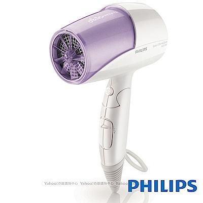 飛利浦溫控雙倍負離子水潤護髮吹風機 HP8213(魅力紫)
