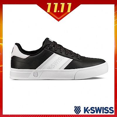 K-SWISS Court Lite Spellout休閒運動鞋-女-黑/粉紫