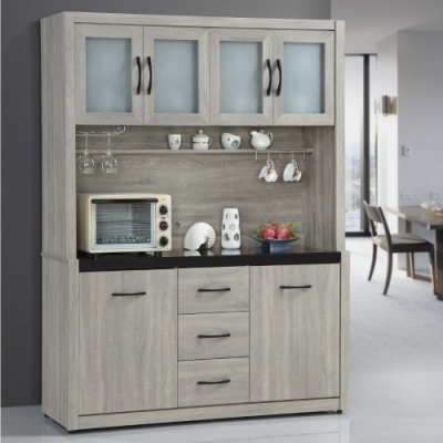 MUNA 依琳5.3尺餐櫃/碗盤櫃(全組) 157.6X41.8X197.2cm