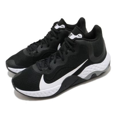 Nike 籃球鞋 Renew Elevate 運動 男鞋 輕量 透氣 舒適 避震 包覆 球鞋 黑 白 CK2669001