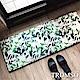 TROMSO 巴黎樂活短毛絨地墊(長+短套組)-M706優雅綠葉 product thumbnail 1