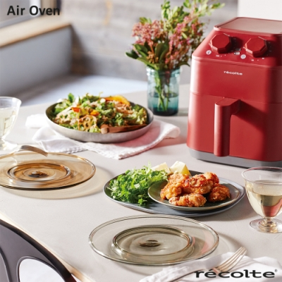 recolte日本麗克特 Air Oven 氣炸鍋 經典紅