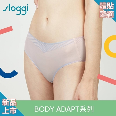 sloggi BODY ADAPT體貼適形系列中腰平口小褲 M-EL 鏡光幻影 87-2210 S5