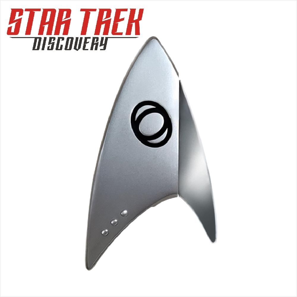 星際爭霸戰 Star Trek : 發現號 徽章 32GB隨身碟 (銀色)