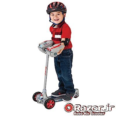 【 美國 Razor Jr.】 Robo Kix Scooter兒童三輪滑板車 - 機器人
