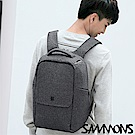 SAMMONS 羅伯特商務筆電後背包 紳士灰