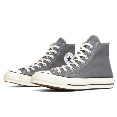 CONVERSE CHUCK 70 HI 中 高筒休閒鞋 灰 164946C