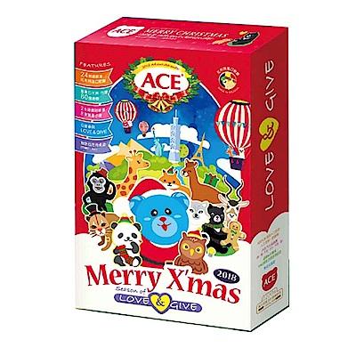 [時時樂限定]【麗嬰房】ACE 2018年(動物地圖)聖誕彩繪月曆禮盒(24天倒數軟糖禮盒)