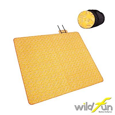 WildFun 300x300四季可用舒適舖棉地墊 向日葵