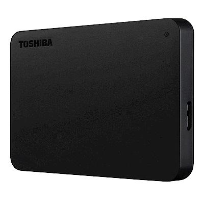 [時時樂限定]TOSHIBA A3 2TB USB3.0 2.5吋行動硬碟 黑靚潮III