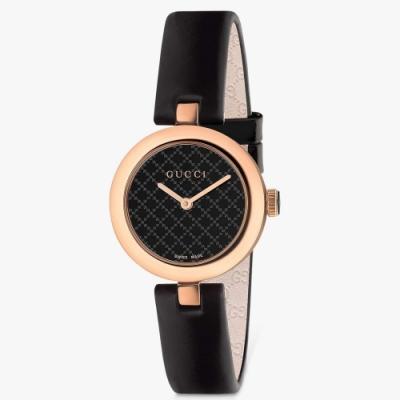 GUCCI Diamantissima典雅高質感腕錶27mm(YA141501)