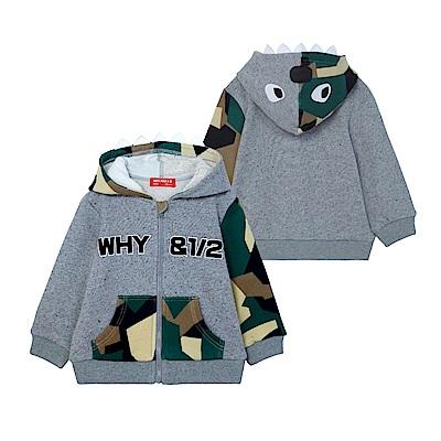WHY AND 1/2 mini 連帽棉質外套 1Y~4Y
