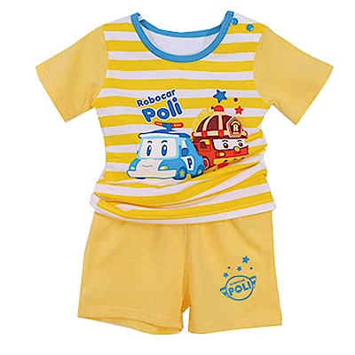 POLI波力短袖精梳純棉套裝 k50540 魔法Baby