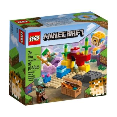 樂高LEGO Minecraft系列 - LT21164 珊瑚礁