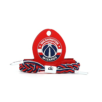 RASTACLAT NBA經典鞋帶手環 巫師隊