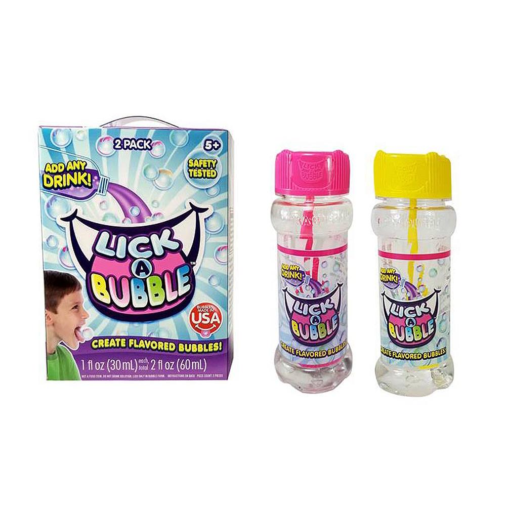 賽先生科學 美國 Lick-A-Bubble 可以吃的泡泡 (2罐/盒)