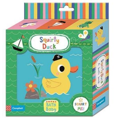 Squirty Duck Bath Book 小鴨洗澡書