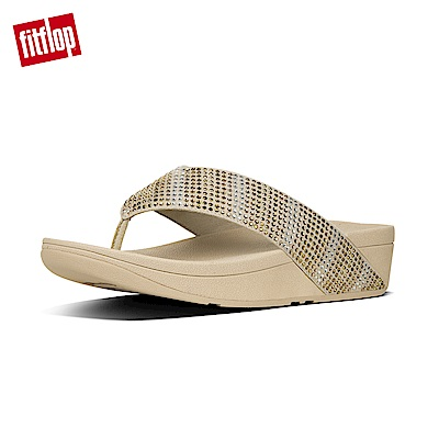 FitFlop STROBE TOE-THONG SANDALS金