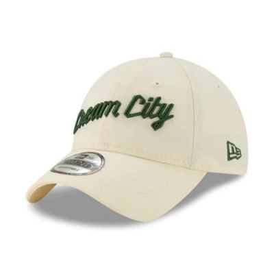 New Era 9TWENTY NBA City Edition 棒球帽 公鹿隊