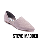 STEVE MADDEN-TRIXX花邊尖頭平底鞋-灰色