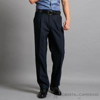 ROBERTA諾貝達 時尚設計 當季流行精品西裝褲 黑色