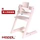 [日本HOPPL]Choice嬰兒成長椅-橡木白(含組裝) product thumbnail 1