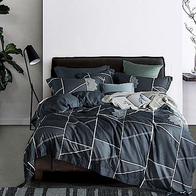 Lily Royal 60支頂級天絲 四件式兩用被床包組 加大 時間志