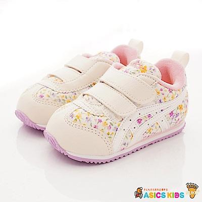 亞瑟士SUKU2機能鞋 雙絆帶穩定款4A009-500白紫花(寶寶段)