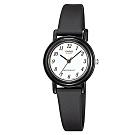 CASIO 簡單實用小錶面指針錶-白面x數字黑(LQ-139BMV-1B)
