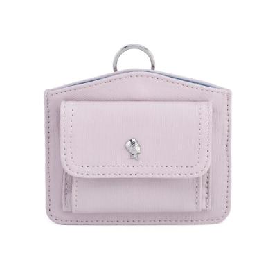 PORTER - 輕甜繽紛SPIRIT造型頸掛零錢包 - 藕粉紫(銀)